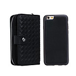 Compatible Special Design PU Leather Soft Full Body Cover Cases for iPhone 6/4.7 (Assorted Color)