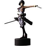 Attack on Titan 14CM Mikasa·Ackerman Doll Toys Model Anime Action Figures