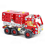Fire Engine Carrier Fire Apparatus Fire Truck  Puzzles Magical Alloy Model DIY Toys Modeling Toys