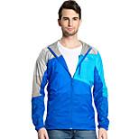Men Outdoor Sport Windbreaker Waterproof Sun & UV protection Movement Lightweight Quick-dry Hiking Skin Jacket