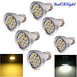 6YouOKLight®  E27 7.5W  CRI=80 Warm White /White light 700lm 15-LED5630 LED Spotlight (AC 85~265V)