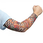 Fashion Sport Bike Cycling Arm Sleeves Cover Skin Sun Protection Elastic Armband(2PCS)