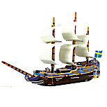 East Indiaman Gotheborg Pirate Boat 3D Puzzles Paper DIY Toys Moulding Toys