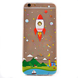 Rockets Pattern TPU Soft Case Phone Case iPhone 6/6S