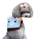 Dog Shirt / T-Shirt Blue / Pink Spring/Fall Polka Dots / Animal Fashion