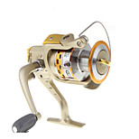 6 Ball Bearings Spinning Reels Gear Ratio 5.1:1 Exchangable hand Spinning Fishing Reel -SG7000A Random Colors