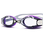 Swimming Goggles Unisex Anti-Fog Silica Gel PC White / Gray / Blue Yellow / Red / Blue / Purple
