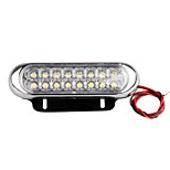 4 Car Truck Universal Day Fog Aux Driving Drl 16 Led Light Lamp White