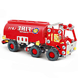 Fire Engine Fire Apparatus Fire Truck  Puzzles Magical Alloy Model DIY Toys Modeling Toys