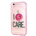 Donuts Call Flashing TPU + PC Phone Case Combo for iPhone 6 / 6S