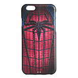 Spider Pattern 3D Print Embossed TPU Soft Back Case for iPhone 6/6s