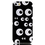 caja del teléfono de TPU material modelo de ojos múltiples para el iphone 5 / 5s