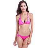 Fashion Designer 2016 Hot Sale Strappy Bandage Stretch Mesh Sexy Transparent Bikini Free Size 3 Colors DM064