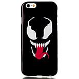 rote Zunge Muster tpu Material Telefonkasten für iphone 6 / 6S