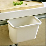 Hanging Kitchen Trash Can,Plastic,Small