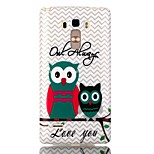 Owl Pattern TPU Phone Case for LG Stylo LS770