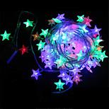 50led 별 모양의 배터리 야외 방수 문자열 조명 소유주 왕 (kl0009-RGB, 흰색, 따뜻한 흰색)