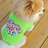 Comfortable Candy Color Pet T-shirt