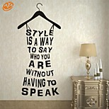 AYA™ DIY Wall Stickers Wall Decals, English Words & Quotes PVC Wall Stickers