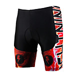 PALADINSPORT New Men's Cycling Shorts Bike TROUSERS with 3D Pad Lycra DK624 thunderstorm
