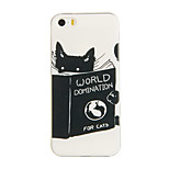 Cats of the World Pattern TPU Soft Case for iphone5/5S