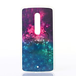 Starry Sky Pattern TPU Soft Case for Motorola MOTOX Play