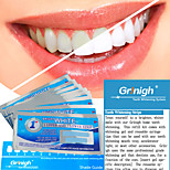 Grinigh Profesional Teeth Whitening Ultra Thin Dry Strips with Non Slip Comfort Formula | 7 Treatments, mint flavor