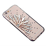 Luxury diamond series Creative sun transparent TPU Phone Case is suitable for all-inclusive iphone5/5s