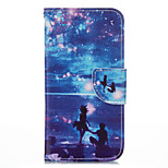 Romantic Seascape PU leather with Stand Case for Iphone6Plus/6SPlus 5.5