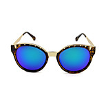 Sunglasses Women / Girl's Fashion 100% UV400 Round Tortoiseshell Sunglasses Full-Rim