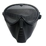 Outdoor Sports Metal Mesh  Face Military Mask Defensive Mask