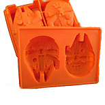 Silicone Ice Tray Licensed Star Wars Millennium Falcon Chocolate Mould
