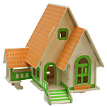 Forest Cabin Wood 3D Puzzles Diy Toys