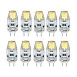 10 stk. NO G4 2W 1 COB 170 lm Varm hvid / Kold hvid T Justérbar lysstyrke LED-lamper med G-sokkel DC 12 V