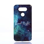 Good Night Pattern TPU+IMD Soft Case for LG G5