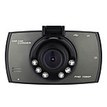CAR DVD-4000 x 3000- conCMOS 2.0 MP- paraFull HD / G-Sensor / Detector de Movimiento / Gran Angular / 1080P
