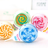 2PCS Lollipop 12 M In Creative Cartoon Stationery Tape Correction Tape(Style random)