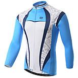 Jerseyes(Azul claro) -Transpirable / Resistente a los UV / Secado rápido / Capilaridad / Antibacteriano- deCiclismo / Moto- deMangas
