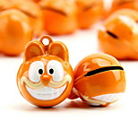 Garfield Cartoon Pure Copper Pet Pendant Bell(2 PCS 2cm)