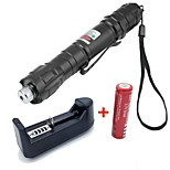 Flashlight Shaped-Green Laser Pointer-Aluminum Alloy