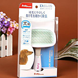 Pet Dog  Hair Grooming Slicker Rake Brush Comb Special Tip 360 degree Rotation S