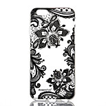 dpt® Lace Flower Butterfly Pattern TPU Soft Back Cover for iPhone 6Plus/6SPlus