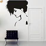 AYA™ DIY Wall Stickers Wall Decals, Beautiful Lady PVC Wall Stickers