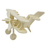 3D Puzzles Wooden  Puzzles Wooden Children'S Educational Ideas Put Stall Toy Plane