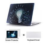 3 en la cubierta del teclado case + Screen Protector + TPU 1 cuerpo completo para el aire del macbook 11