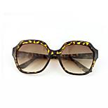 Sunglasses Women's Fashion 100% UV400 Oversized Tortoiseshell Sunglasses Full-Rim