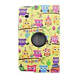 Tierkarikatur PU-Leder Flip-Cover Fall für Samsung Galaxy Tab e 8.0 t377-Tablet-Schutzhülle 8 Zoll