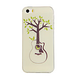 Guitar Tree Sky Pattern TPU Soft Case for iphone5/5S