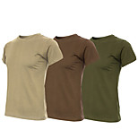Tactical Military Fans Short Sleeve T-Shirt Men Women 100% Cotton Outdoor Sports Running Casual Physics Training