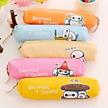 Lovely Retro Pen Cylinder Stationery Bag Bag Box Pencil Box